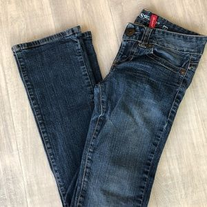 Guess jeans 27 daredevil boot inseam 32